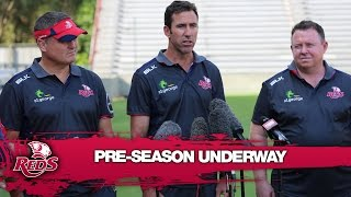 Reds coaches on the Reds preseason |  Rugby Video Highlights