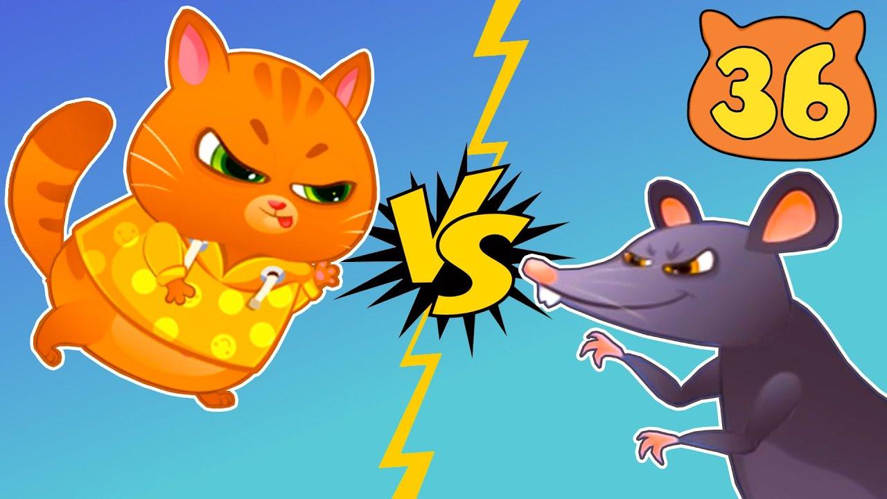 картинки котик бубу и крыс обеспокоены
