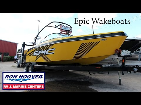 2015 Epic Wake Boats at Ron Hoover RV & Marine in Houston Texas. 281-829-1560
