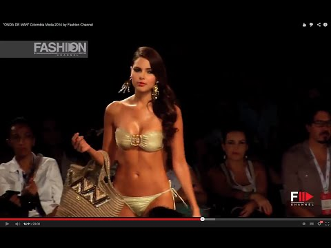 """ONDA DE MAR"" Colombia Moda 2014 by Fashion Channel"