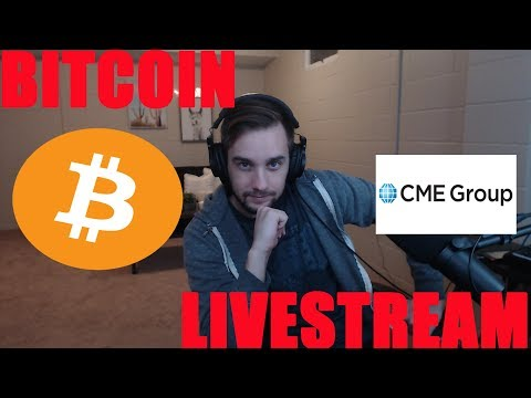 Bitcoin CME Futures Livestream - Trading Strategies/Research