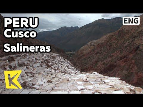 【K】Peru Travel-Cusco[페루 여행-쿠스코]계곡의 염전, 살리네라스/Salineras/Valley/Salt Mine