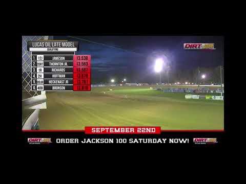 Brayton Laster Jackson 100 Qualifying @ Brownstown Speedway
