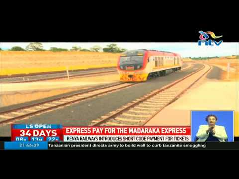 Kenya Railways introduces short code payment for tickets