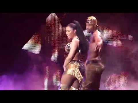 Nicki Minaj Beez In Da Trap - The Pinkprint Tour O2 Arena London
