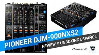 Review y unboxing en español mixer Pioneer DJM-900NXS2 | TecnologiaDJ.com