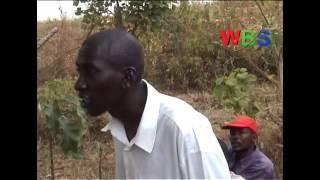 Abaana balangidde Poliisi obujega olw'okugaana okukwata nyabwe eyatta kitaabwe thumbnail