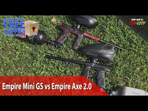 Empire Mini GS vs Empire Axe 2.0- Shooting and Sound Comparison