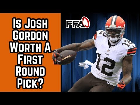 96159c64c9c Interesting take on Josh Gordon s 2018 value. Does he really have a shot at  being top 5 considering the amount of weapons  What do you guys think