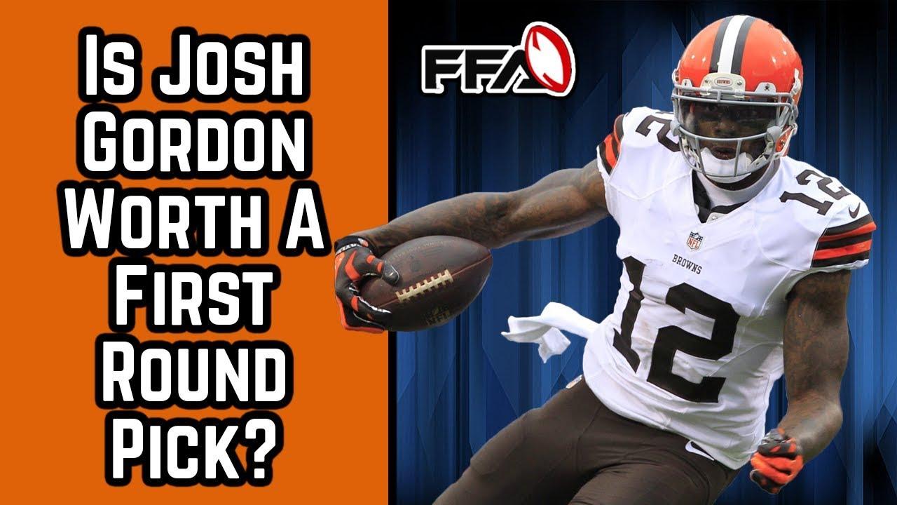 Is Josh Gordon Worth a First Round Pick   5f5f71457