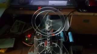 CMAC Control for the Reaction wheel pendulum