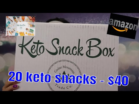amazon-keto-snack-box---20-snacks-for-$40---was-it-worth-it?-yes!