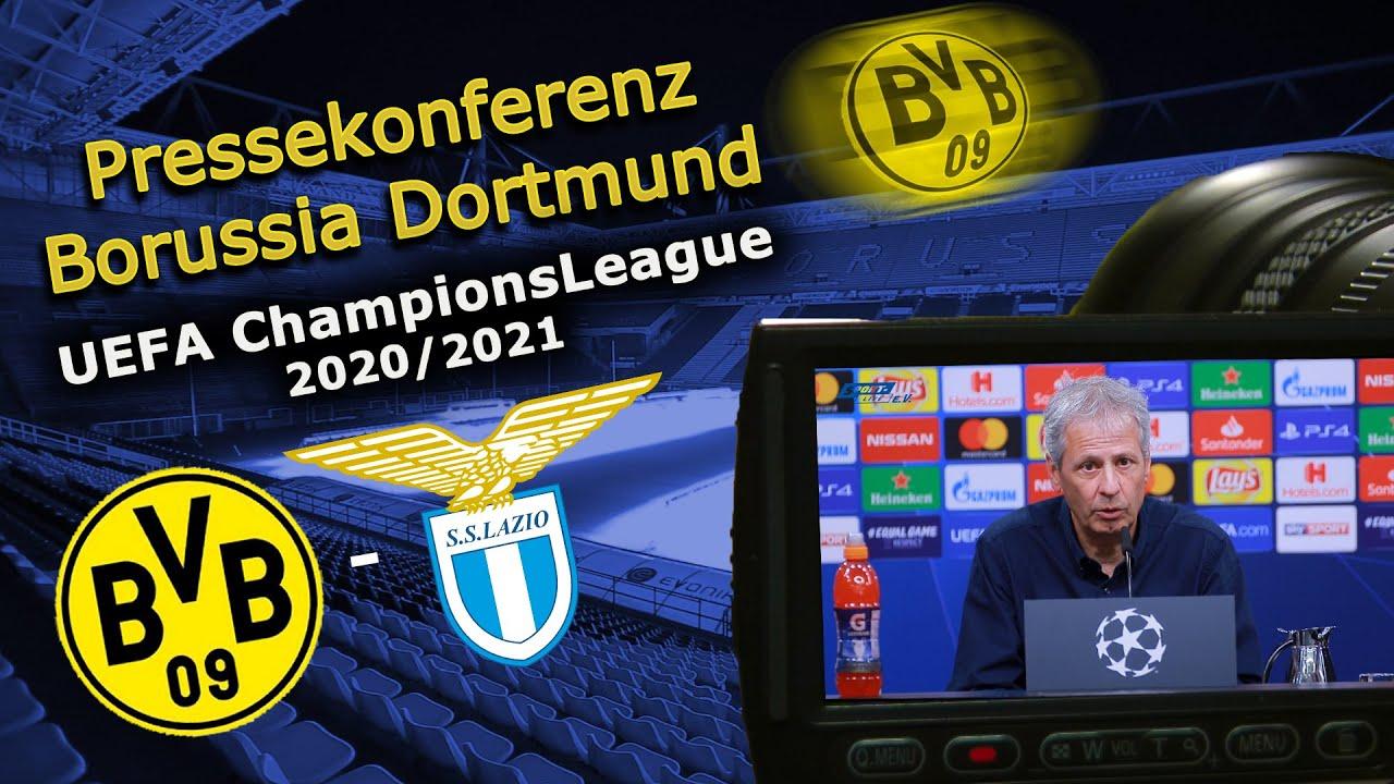Borussia Dortmund - Lazio Rom: Pk mit Lucien Favre und Thomas Delaney