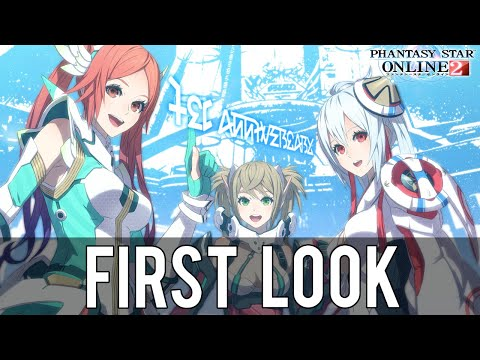 "Phantasy Star Online 2 First Look ""Is It Worth Playing/Trying?"" (PSO2 Gameplay/Commentary/60 FPS)"