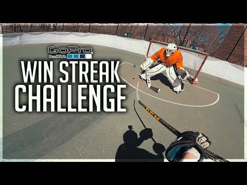 GoPro Hockey   WIN STREAK CHALLENGE