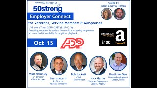 10.15 50strong EmployerConnect: ADP, PepsiCo, Ricoh