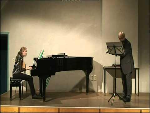 Franz Xavier Mozart: Rondo in e-moll, fluit en piano.