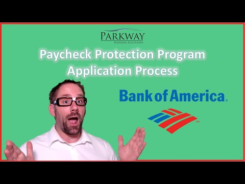 Bank Of America Paycheck Protection Program Application Process