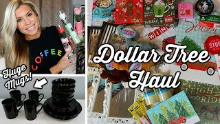 DOLLAR TREE HAUL | CHRISTMAS + NEW FINDS | DECEMBER 2018