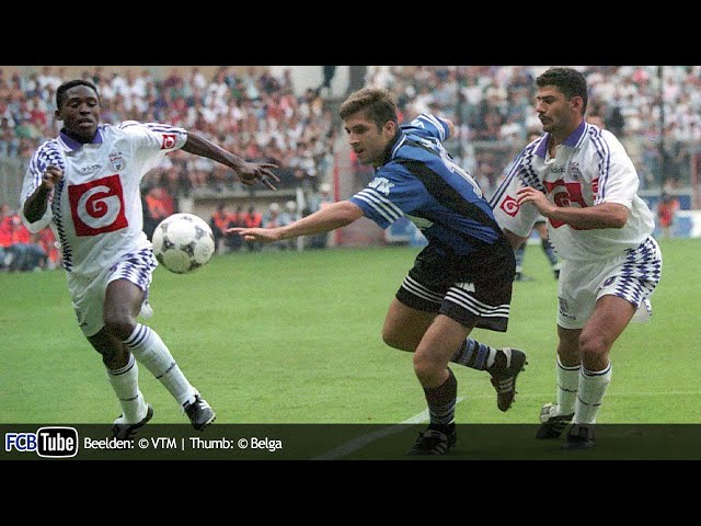 1995-1996 - Supercup - 01. RSC Anderlecht - Club Brugge 2-1