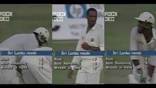 *THRILLER* Sri Lanka vs West Indies | SINGER CHAMPIONS TROPHY | 5th Match | Sharjah, 1995
