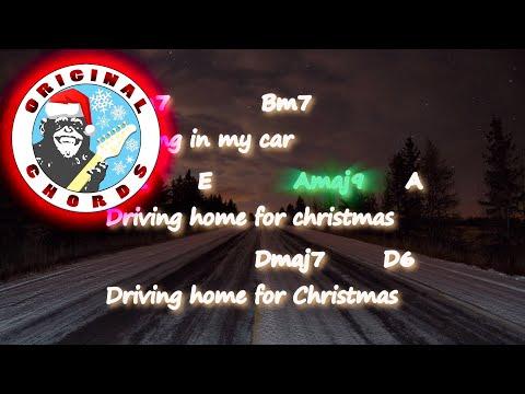 Chris Rea - Driving Home for Christmas - Chords & Lyrics
