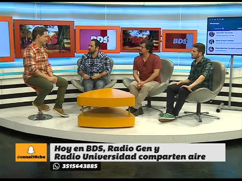 Los protagonistas de la Radio Gen FM 107.5 en el programa Bien Despiertos