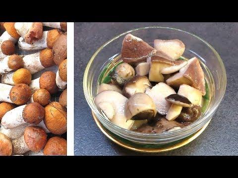 БЫСТРЫЕ маринованные грибы КАК ИЗ БАНКИ, ВКУСНОТИЩА! Рецепт маринованных грибов ЕДИМ ЧЕРЕЗ 1 ЧАС