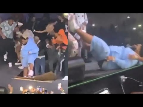 Stage Collapses on Rod Wave at Morris Brown College in Atlanta