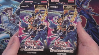 Yugioh The Dark Illusion Special Edition Opening - 2 German Special Editions! | Cyberknight8610