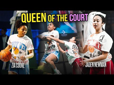 jaden-newman-vs-zia-cooke-in-greatest-queen-of-the-court-game-ever!-all-these-girls-got-beef!!