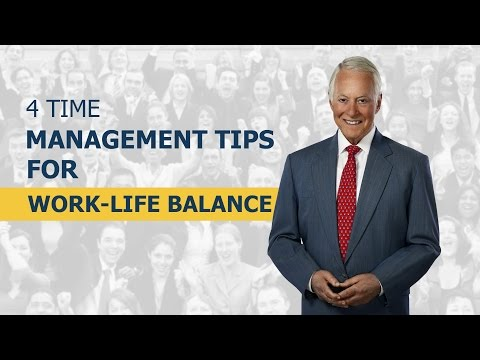 4 Time Management Tips For Work-Life Balance