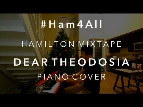 #Ham4All - Dear Theodosia - Piano Cover