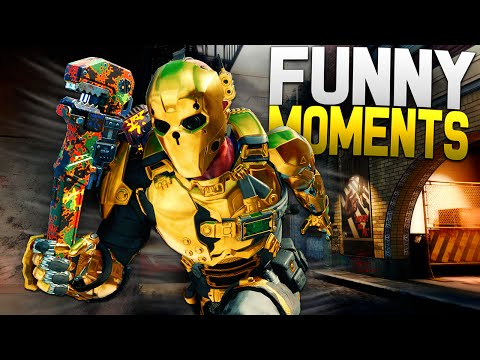 Black Ops 3 Funny Moments - Killstreaks, Spongebob Voices, Finding Mom