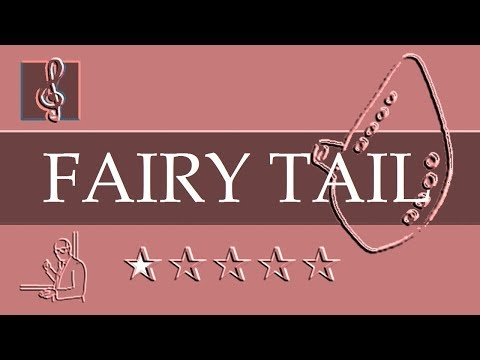 Ocarina Notes Tutorial  Fairy Tail Main Theme Sheet Music