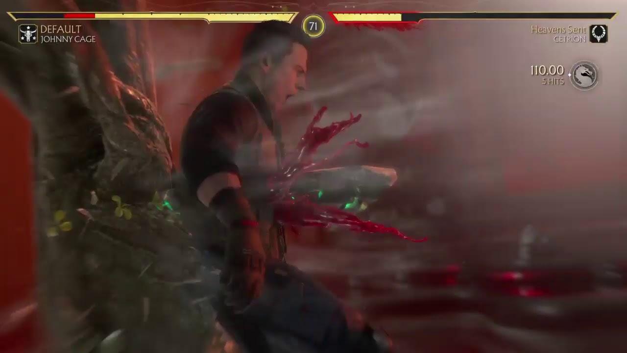 MK11 WITH VAMPIRE VICTIM