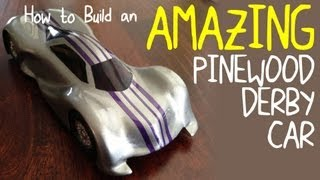 Pinewood Derby: How To Make An Amazing Pinewood Derby Car