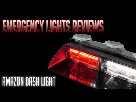 Generic Car 16-led Dash Light From Amazon.com (Emergency Lights Review)