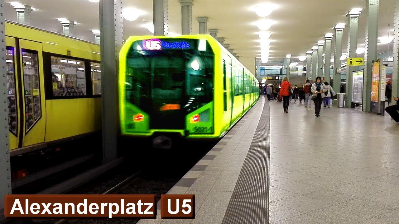 Alexanderplatz U5 : U-Bahn Berlin ( BVG H ) - YouTube