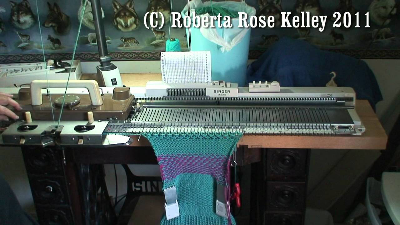 Silver Reed Chunky Knitting Machine ribber SR 155 for SK 155 and SK 890 machines