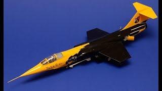 F-104G Starfighter Model Kit Open Box Review