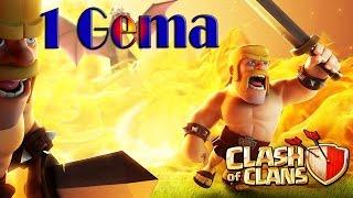 Bug treinando todas as tropas com 1 Gema - Clash of Clans