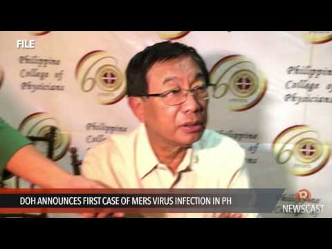 DOH announces first case of MERS virus infection in PH