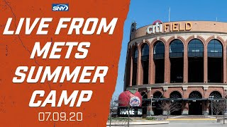 Live Simulated Game from New York Mets Summer Camp | New York Mets | SNY