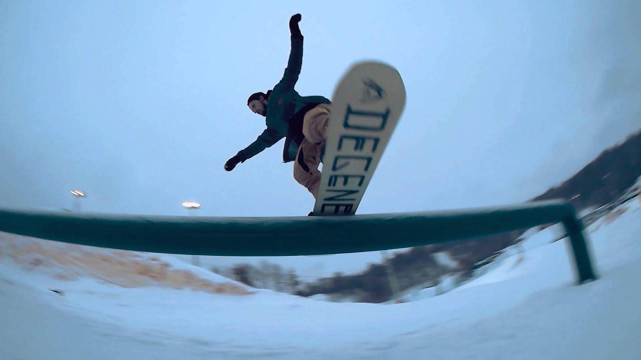 Джиббинг в охта парке: где кататься на сноуборде. Райдер Игорь Ку Кулаков