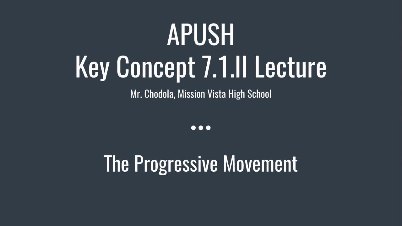 APUSH Period 7 (1898-1945)