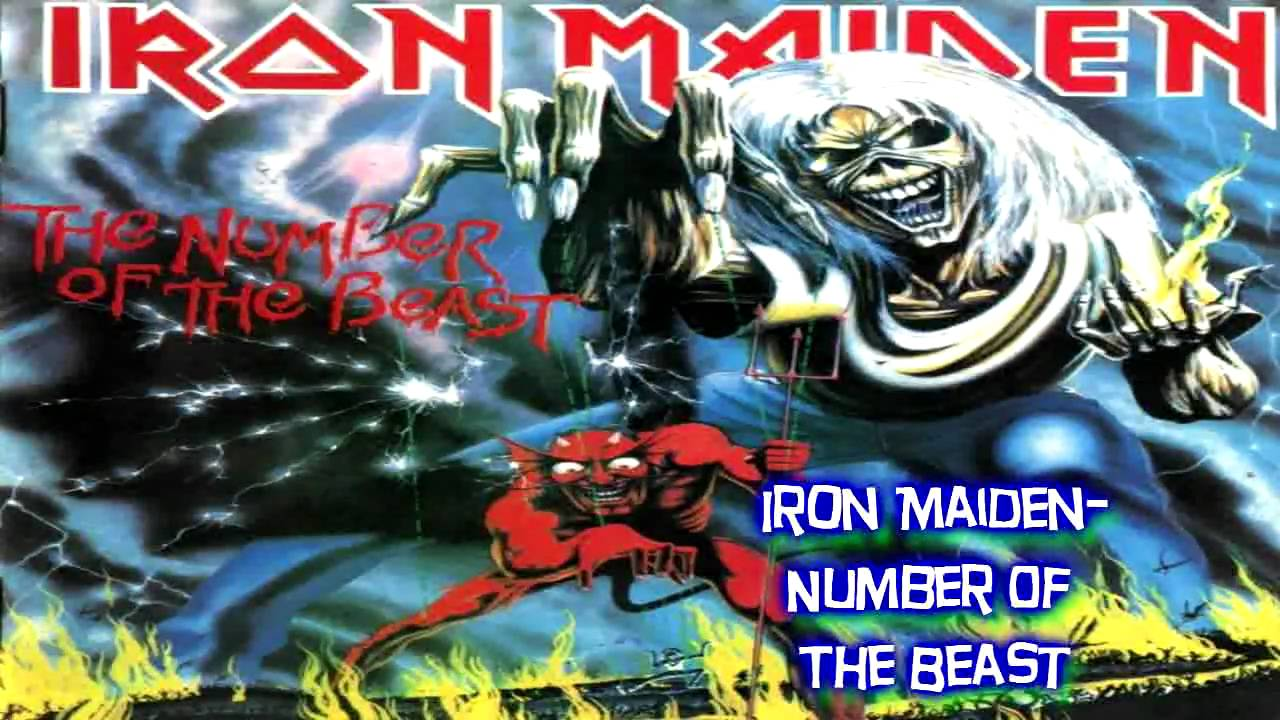 iron maiden number of the beast hd youtube