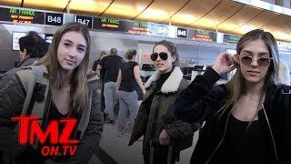 Sylvestor Stallone's Daughters We Are Not The Kardashians | TMZ TV