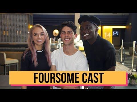 Jenn McAllister, Rahart Adams, & Rickey Thompson Talk FOURSOME Season 3