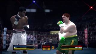 Fight Night Round 3 - Xbox 360 - Muhammad Ali vs. Goliath